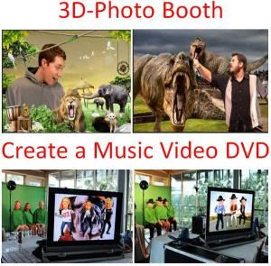 3D-PhotoBooth or Create a Music Video - Fort Worth Area