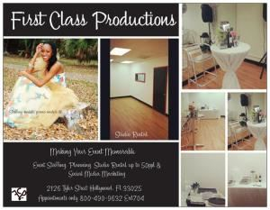 First Class Productions, Inc-planner