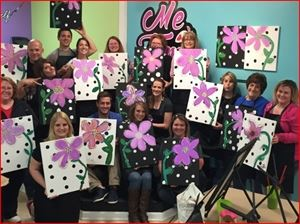 Me Time Studio Wine & Paint Parties