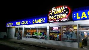 The Fun Factor Family Fun Centre - Pirates Mini Golf & Laser Tag!