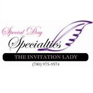 Special Day Specialties - The Invitation Lady - Sherwood Park