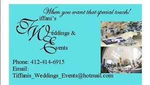 Tiffani's Weddings and Events - Duquesne