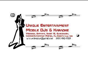 Unique Entertainment Mobile DJs & Karaoke