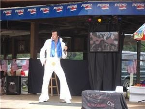 "Jimmy D's ""Elvis is in the building!"" The Tribute"