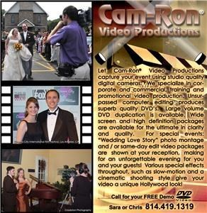 Cam-Ron Video Productions - State College