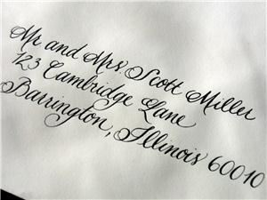 Calligraphy by Cristine