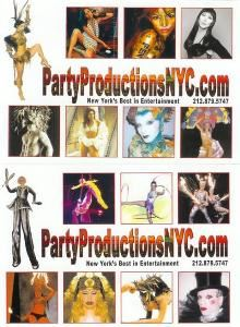 Party Productions NYC