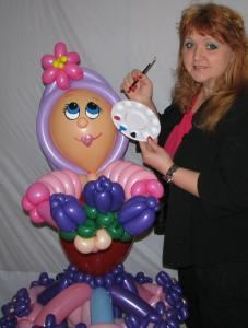 Creative Balloon Art & Fantastic Face Painting