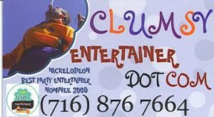 Clumsy The Entertainer
