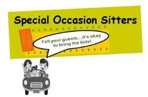 Special Occasion Sitters